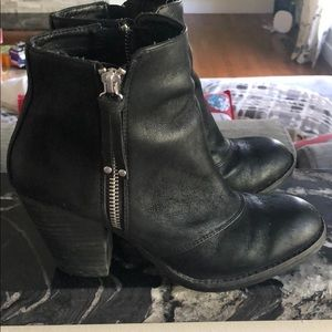 Chelsea crew black ankle boots size 6
